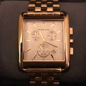Gold Michael Kors Watch- LIKE NEW